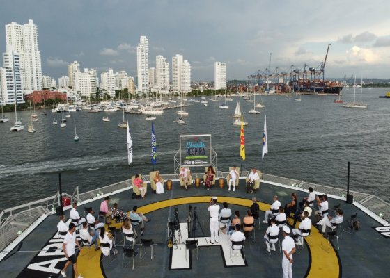 A bordo del velero Tortuga 1, al mando del Capitán Franco Ospina se esperan recolectar más de 150 toneladas de plástico desde La Guajira hasta el departamento Archipiélago de San Andrés y Providencia.
