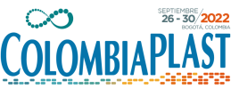 Logo Colombiaplast feria de Acoplásticos